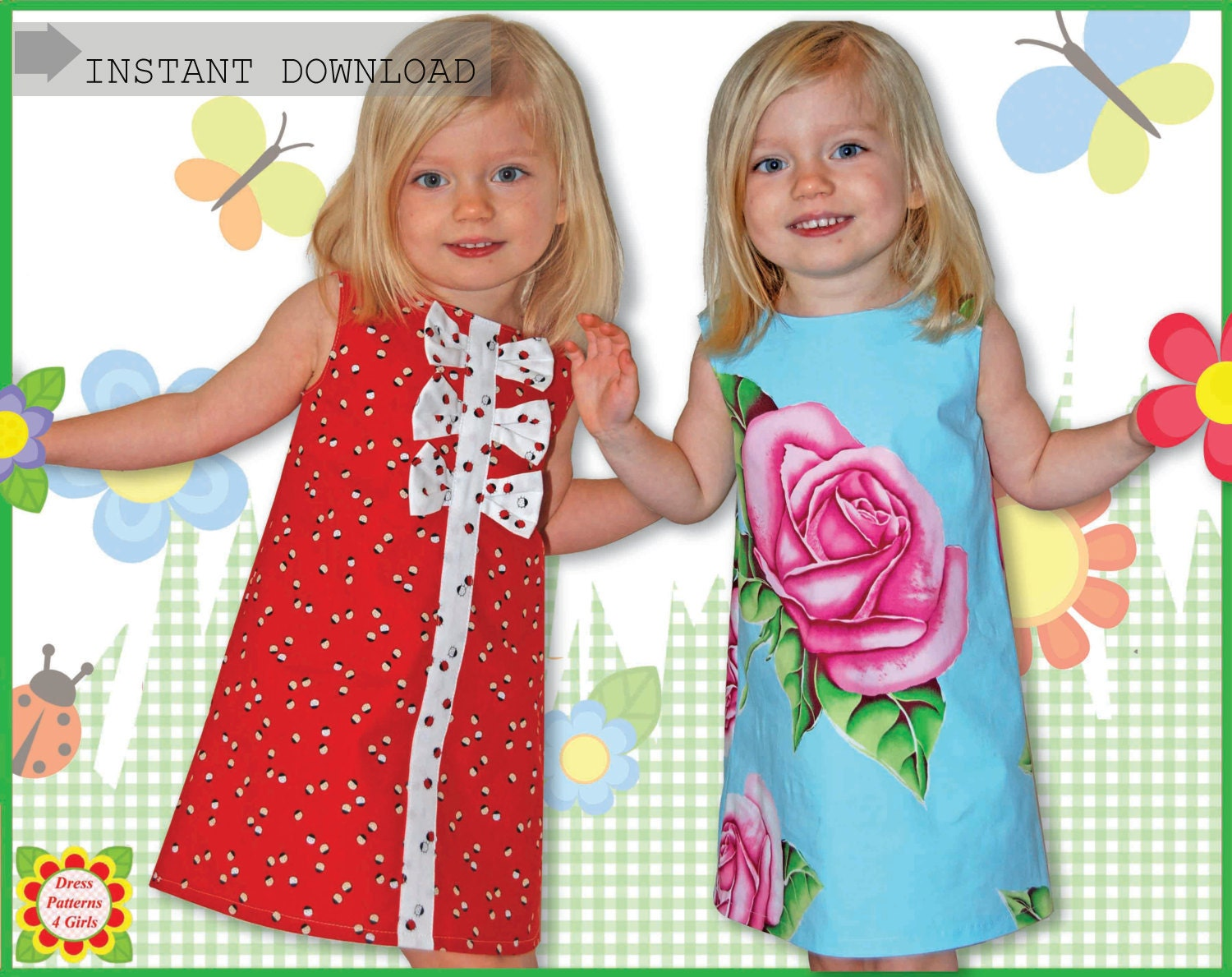 Adele sewing pattern for children free mother daughter apron zoom ombrellifo Gallery