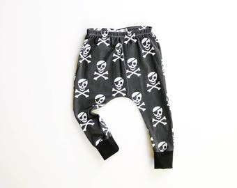 Ahoy Matey Pirate harems / hipster baby leggings / pirate pants
