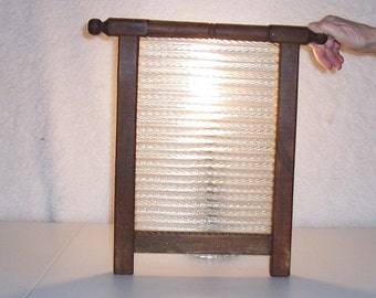 Antique  ornate heavy Washboard