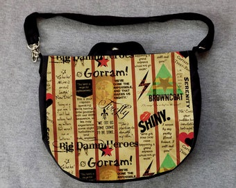 Firefly Cross Body Purse Messenger Bag