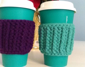 Crochet Coffee Cup Cozy (Set of 2)
