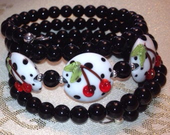 Cherry Dot Bracelet