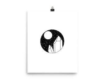 Full Moon Cleanse 8 x 10 Print