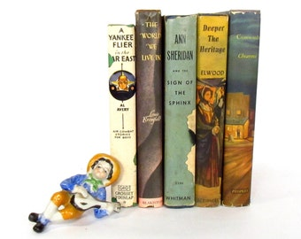 1940's Novels with Dust Jackets