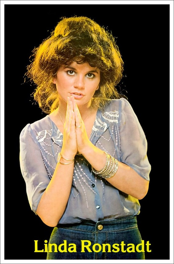 Linda Ronstadt 70 S Poster Stand Up Display Music
