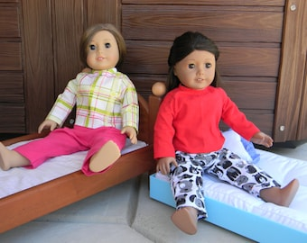 American Girl Doll Flannel Pajamas