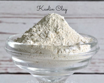 Kaolin Clay, Kaolin Clay For Skin,Clay Mask,Detox Clay,Natural Clay, Mud Clay Mask,Organic Clay Mask,Facial Clay Mask,White Clay,2 oz or 1LB