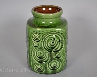 West German pottery vase by Scheurich - decor Jura - 282-16