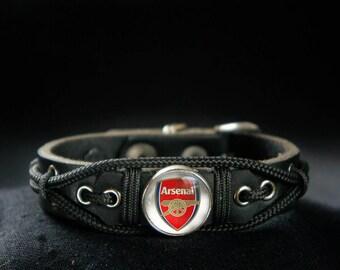 Arsenal Bracelet, Football Soccer Fan Gift