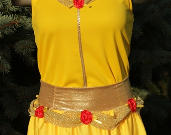Size xl Belle Inspired Running Costume-READY TO SHIP