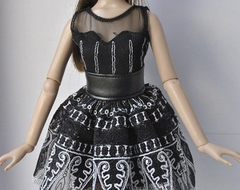 Handmade outfit,dress  for Tonner dolls 1:4 scale doll
