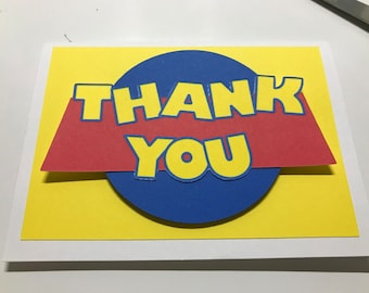 TOY STORY Thank You Cards