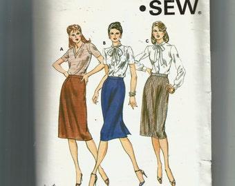 Kwik Sew Misses' Straight Skirt Pattern 1104