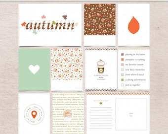 Falling in Love with Fall - Journal Cards