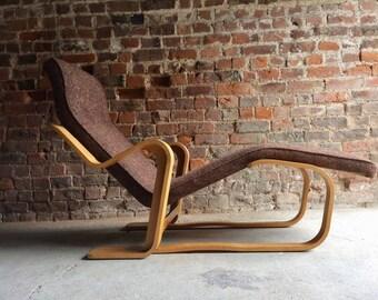 Stunning Marcel Breuer Long Chair Chaise Longue Mid Century 1970's Bauhaus