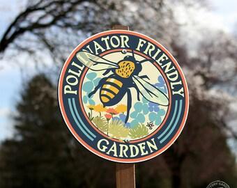 Pollinator Friendly - Garden Sign