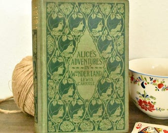 Alice's Adventures in Wonderland 1893 RARE early edition - Thomas Y. Crowell and Co.