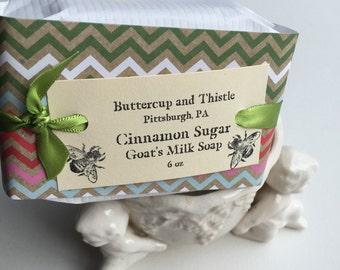 Cinnamon Sugar and Goat's Milk Soap