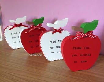 Teachers Apple, Teachers gift, thank you gift