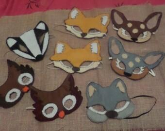 Woodland Animal Mask
