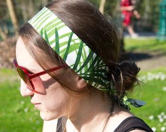Head band pattern Palm tree Daphne