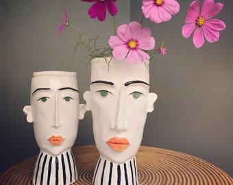 Double trouble - planter/vase