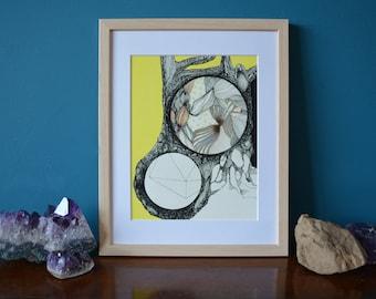 Aither. A giclee fine art print.