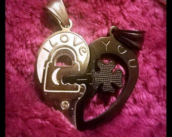 Key to my Heart Couples Necklace