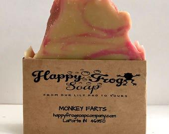 Monkey Farts Handmade Soap