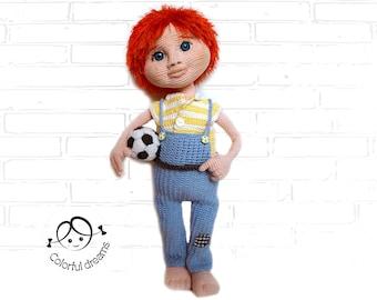 "Crochet Pattern ""Boy Yasha"""