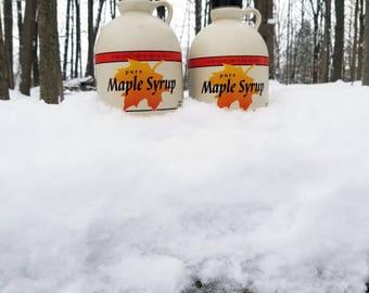 Pure Maple Syrup | Michigan | Grade A Dark, Robust Flavor | 2 Quarts