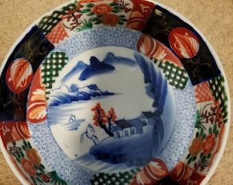 Aoki Bowl/Imari Porcelain