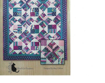 Cabin Fever Quilt Pattern by Black Cat Creations
