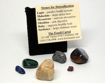 Stones for Detoxification