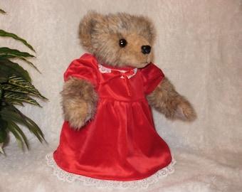 Scarlet Teddy Bear