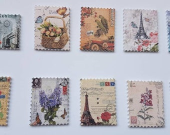 New! Vintage stamp shaped needle minder/ needle knack
