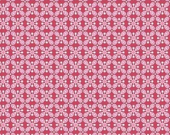 Wildflower Red from Gembrook range by Ella Blue x 25cm