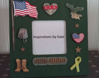 Our Hero Picture Frame