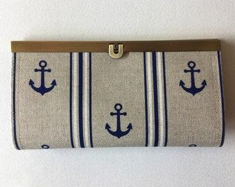 Wallet/purse/purse/clutch: Anchor