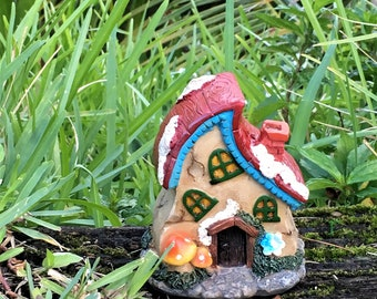 Fairy House, Miniature Fairy House, Gnome House, Whimsical MIniature House