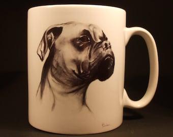 Boxer Dog Coffee Mug, Gift for Dog Lover,