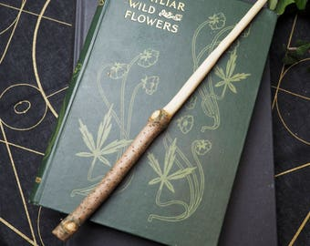 English Wayfaring Wand - Healing, Protection When Travelling - Pagan, Wicca, Witchcraft, Herb