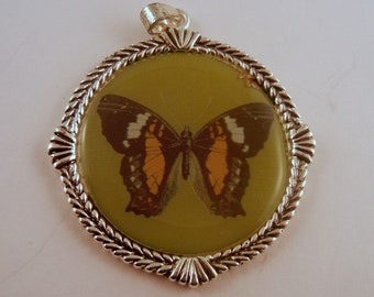 Butterfly Pendant resin