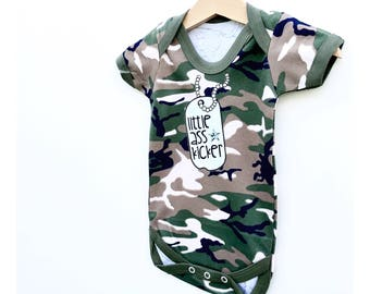 Army Baby Bodysuit, Military Baby, Funny Baby Clothes Army Baby Outfit Marine Baby Bodysuit Air Force Baby Camouflage Clothes Army Baby Gift