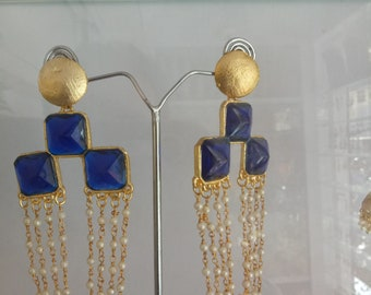 Coper earrings