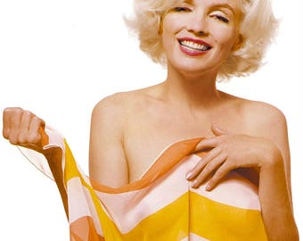 Marilyn Monroe ,  From Marilyn's last photo shoot in 1962.