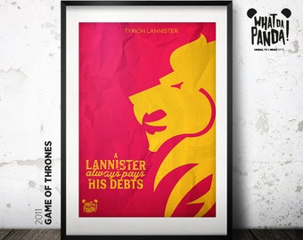 Game of Thrones - A Lannister always pays his debts.