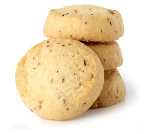 Honey Rooibos tea cookies shortbread snack herbal