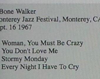 T-Bone Walker-9-16-1967-Monterey Jazz Festival