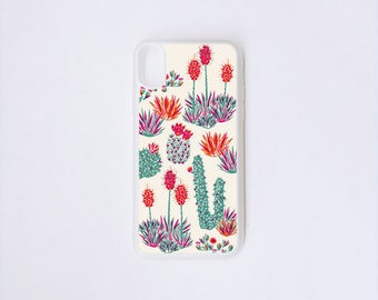 iPhone X Case - Litoral Central iPhone Case - Botanical iPhone X Case - Chilean Flora iPhone Case - Rubber iPhone Case